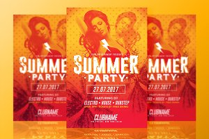 Summer Party | Flyer Templates