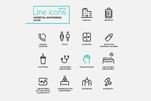 Hospital Infographics-28 Pictograms
