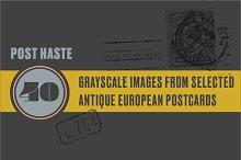 Post Haste | Antique European Post