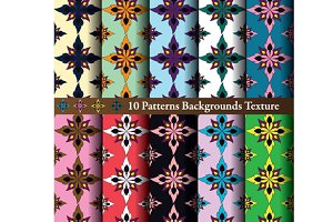 background texture patterns flora