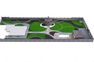 Complete garden landscaping