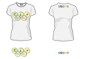 Olympic rings, Rio 2016