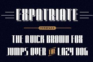 Expatriate Typeface