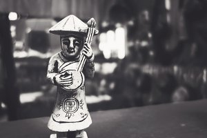 Miniature Asian Statue