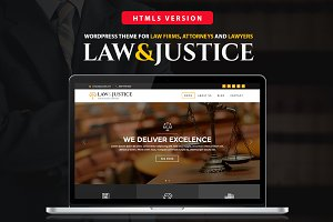 Law&Justice: Law Firm HTML5 Template