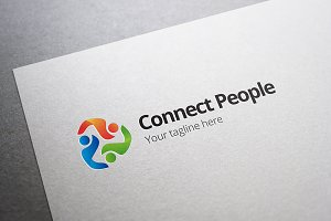Social Media People Logo
