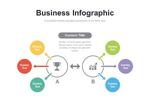 (PPT, AI) Infographic Diagram 007
