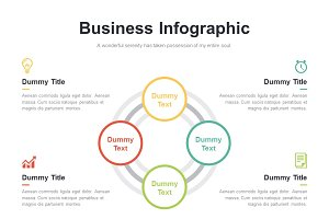 (PPT, AI) Infographic Diagram 005