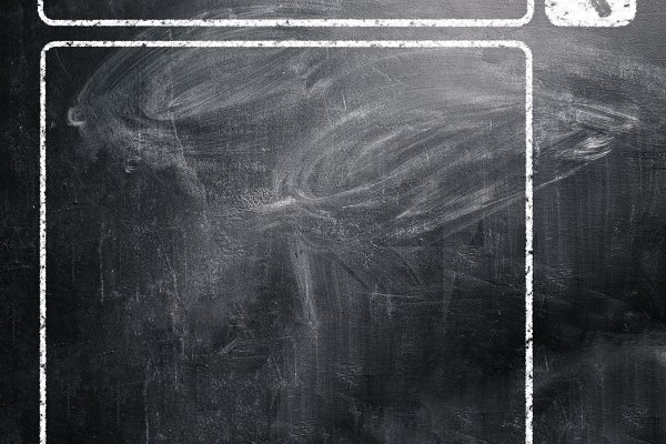 chalkboard with seacrh engine