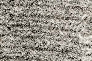 wool fabric macro