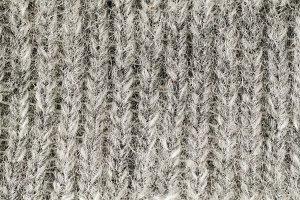 macro wool fabric