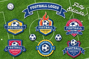 Football and Soccer Logos