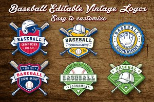 Baseball Logo Templates