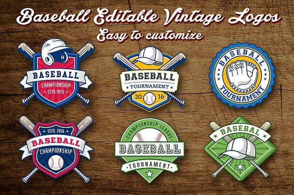 baseball logo templates logo templates creative market