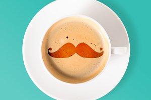 stylish coffee cup