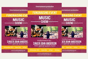 Music Fundraising Flyer