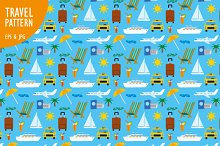 Travel Seamless Patterns