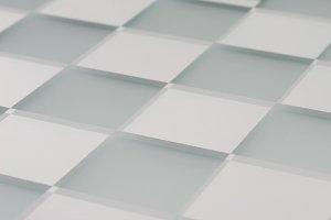 Glass chessboard