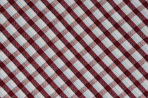 brown checks fabric