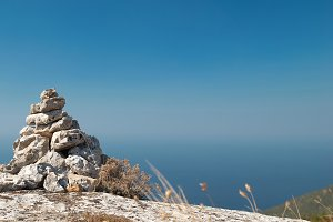 Stone tower - stack of zen stones