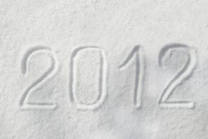 2012 on the snow for the new year