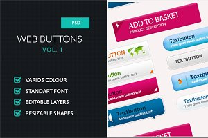 Web buttons Vol. 1