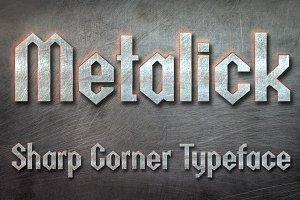 Metalick Bold Font