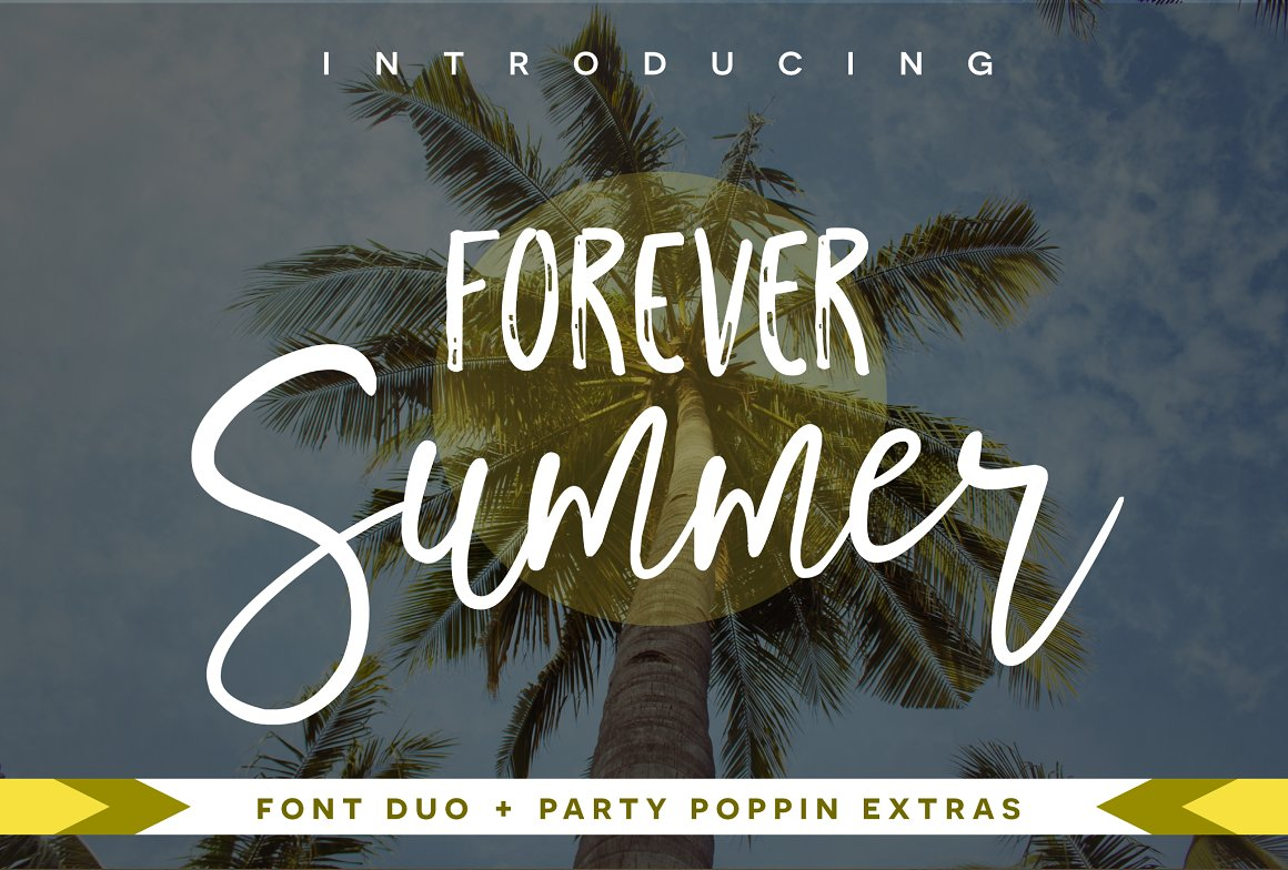50 Fresh Summer and Beach Fonts ~ Creative Market Blog