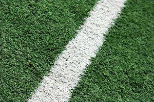 Soccer field shot.