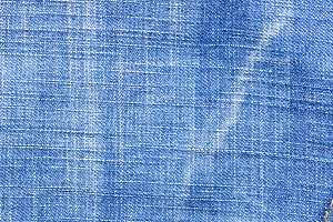 Highly detailed blue jeans texture