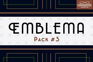 Emblema Font Pack #3
