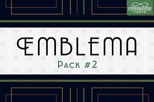 Emblema Font Pack #2