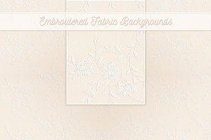 Wedding Whites Embroidery