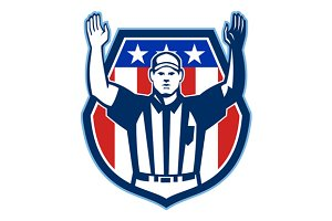 American Football Official Referee