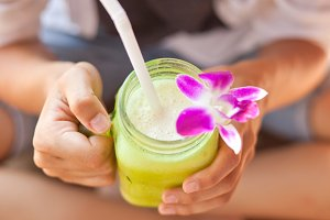 Tasty healthy coctail