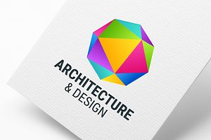 Colorful Crystal Logo Template
