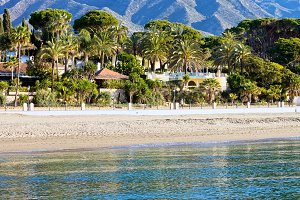 Marbella Beach in Spain