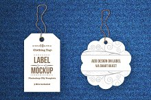 Tags / Labels Mockup Bundle