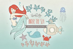 Under the Sea, Vector & PNG