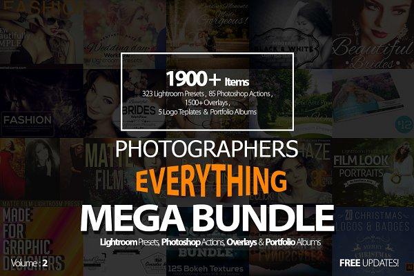 Photographers Everything Mega Bundl…
