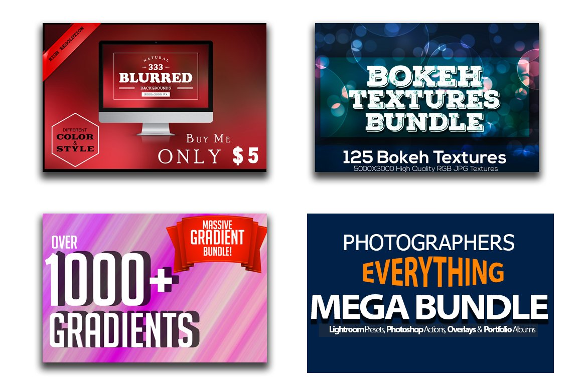Nhiếp ảnh gia Tất cả mọi thứ Mega Bundle - Hành động - 6