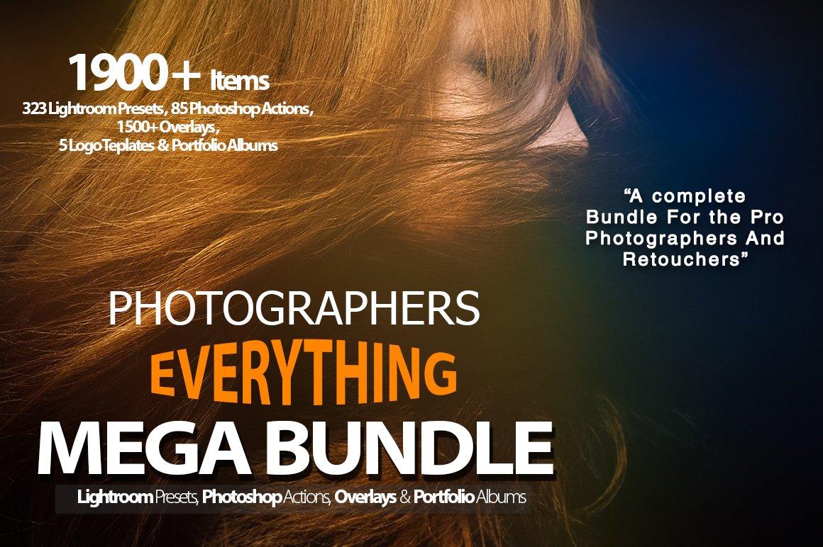 Nhiếp ảnh gia Mọi thứ Mega Bundle - Hành động - 26