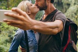 Capturing a romantic moment