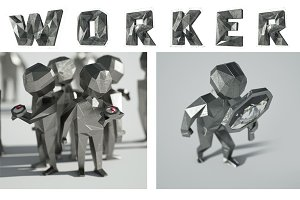 3D workers