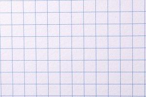 Squared paper macro shot