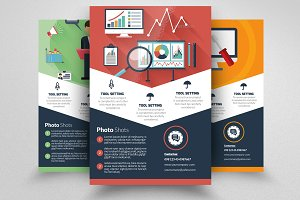 Web SEO Flyer Template