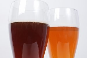 German beer glasses