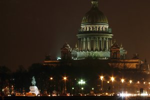Night Petersburg, Isaac