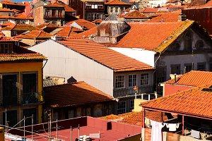 city roofs at Porto