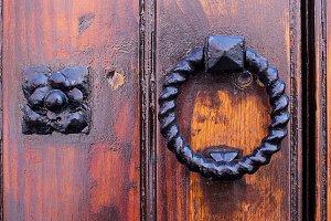 Picaporte puerta vieja 1